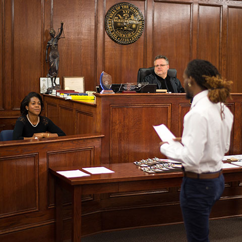 Social work mock trial