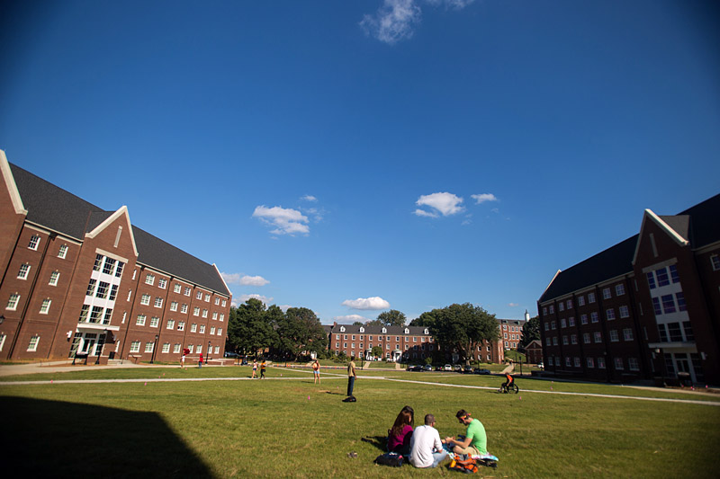 APSU housing quad overview